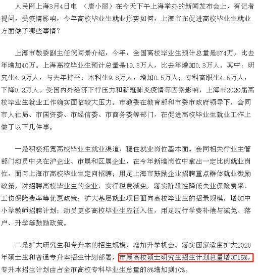 2020考研上海官宣扩招 怎么联系自己心仪的导师